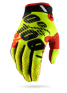 100% Ridefit Glove Yellow/Black