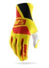 100% CELIUM GLOVE Yellow/Red