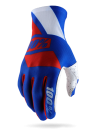 100% CELIUM GLOVE Blue/Red