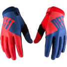 DEFT FAMILY CHOICE GLOVES BLUE/RED
