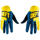 DEFT FAMILY CATALYST GLOVES YELLOW/BLUE