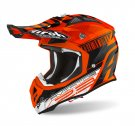 CROSSHJÄLM Airoh Hjälm Aviator 2.3 AMSS Novak orange chrome