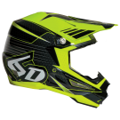6D ATR-1 BLADE HELMET BLACK/YELLOW