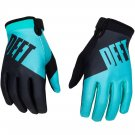 DEFT FAMILY CHOICE GLOVES TEAL/WHITE