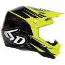 6D ATTACK BIKE HELMET YELLOW