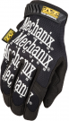 MECHANIX WEAR ORIGINAL SERIES GLOVE BLACK