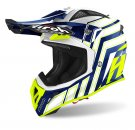 CROSSHJÄLM Airoh Aviator Ace ART yellow/blue