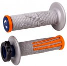 Gummihandtag ODI Emig2 Pro V2 Grip 2 & 4 Stroke Gray/Orange