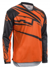 Crosströja AXO SR JERSEY BLACK/ORANGE