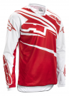 Crosströja AXO SR JERSEY WHITE/RED