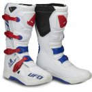 UFO Elektron Boots White-Red-Blue