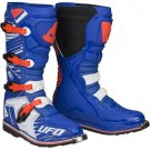 UFO Obsidian Boots Blue Red White
