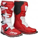 UFO Obsidian Boots Red White