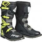 UFO Obsidian Boots Yellow Grey Black