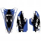 Why Stickers, Sponsor Kit YZ 125/250, 02-04, Yamaha 02-04 YZ250, 02-04 YZ125