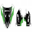 Why Stickers, Sponsor Kit KXF 250/450, 09-10, Kawasaki 09-10 KX450F, 09-10 KX250F