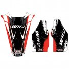 Why Stickers, Sponsor Kit CRF 250, 04-09, Honda 04-09 CRF250R