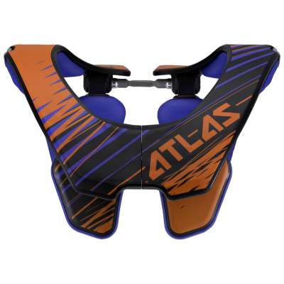 ATLAS AIR NECKBRACE ORANGE TORNADO