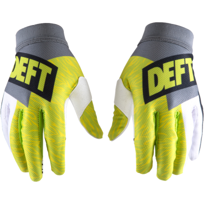 DEFT FAMILY ARTISAN GLOVES GREY/GREEN