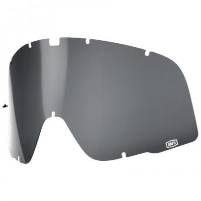 100% Barstow Curved Lens Grey