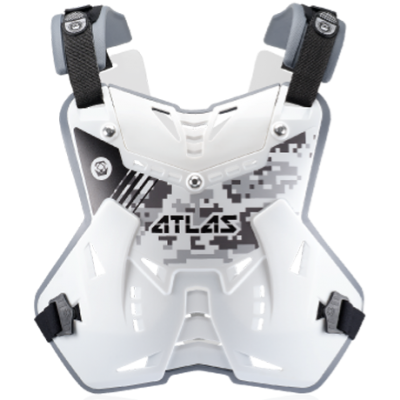 ATLAS DEFENDER CHEST PROTECTOR - FRONT ONLY DIGITAL ARTIC
