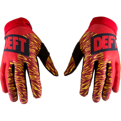 DEFT FAMILY CATALYST GLOVES RED/YELLOW