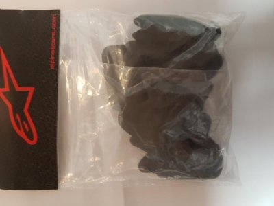 Alpinestars Soft Insert Pad Set For BNS Black