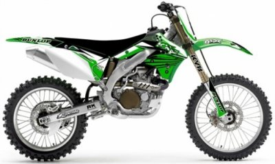 DESIGNSET FLU - FACE LIFT UNLIMITED - KAWASAKI Xyience KXF450 2006-08